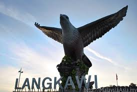 Langkawi Eagle square near jetty terminal