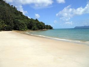 Pantai pasir tengkorak-langkawi malaysia